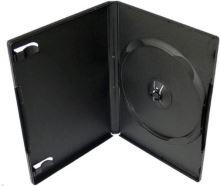 Obal na 1 DVD černý 14mm