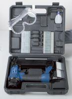 Scheppach 2 v 1 pneumatická sponkovačka/hřebíčkovačka