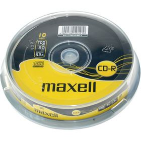 Maxell CD-R 700MB 52x, spindle, 10ks (MX10S)