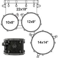 SNM524XBKFB DRUMSET MAPEX
