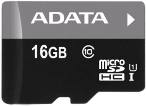 ADATA SDHC MICRO 16GB CLASS 10 + ADP UHS PREMIER