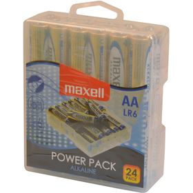 LR6 24BP AA Power Alk MAXELL