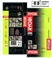 sada brusných papírů pro EMS180RV Ryobi SMS 30A