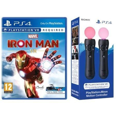 HRA SONY PS4 Marvels IronMan VR+TwinPack