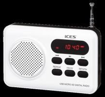 LENCO ICES IMPR 112 WHITE RADIO S CD