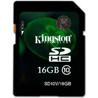 SDHC 16GB CL10 SD10V         KINGSTON