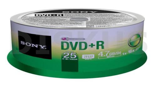 SONY DVD+R 25CAKE 16X