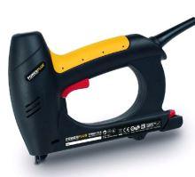 PowerPlus POWX1370 - Elektrická sponkovačka / hřebíkovačka - v balení již 200ks sponek a 100ks hřebíků