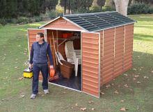 zahradní domek Palram Skylight 6x10 hnědý