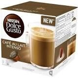 Nescafé Dolce Gusto Café Au Lait Intenso kávové kapsle 16 ks